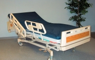 Bed, Hospital, Hill-Rom
