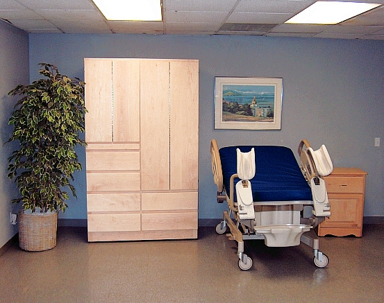 Custom Hospital Furniture